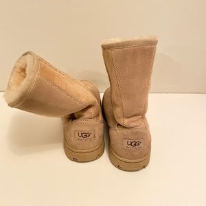 UGG | Cream Winter Boots Size 8